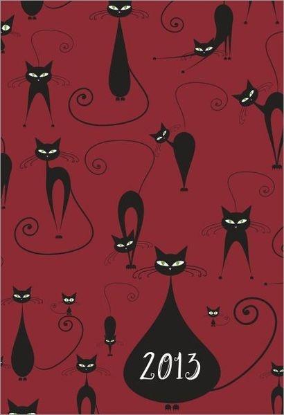 Czy są tu miłośnicy kotów? Z tym kalendarzem Wasi ulubieńcy potowarzyszą Wam przez cały 2013 rok!