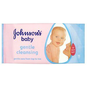 Johnson & Johnson Baby Wipes Skincare x56