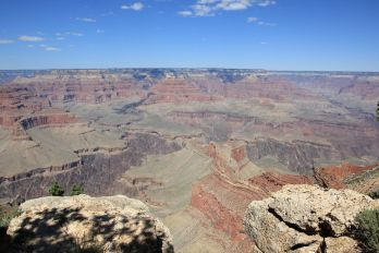 Widok na WIelki Kanion - południowa krawędź  Wielki Kanion (Grand Canyon), Arizona, USA