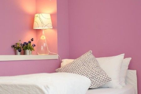 Room Siena B&B Stop&Sleep Udine Front Civil Hospital #sleeping #room #dream #travel #friuli #pink #art #design