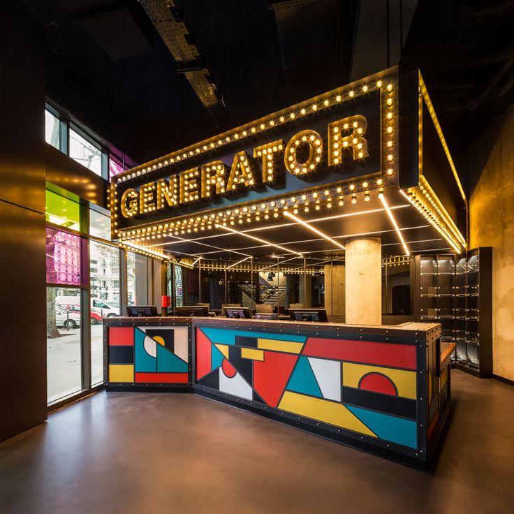 Rive droite : auberge de jeunesse Generator |MilK decoration
