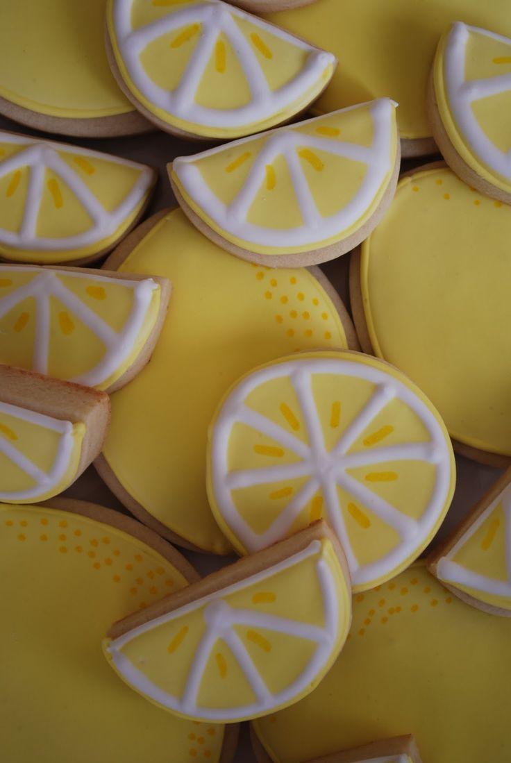 Lemon Iced Cookies