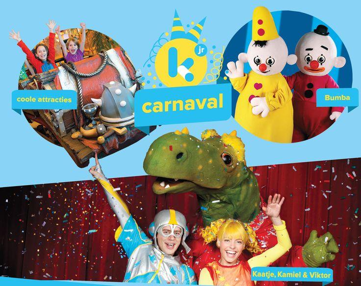 Kom naar Ketnet Jr. Carnaval in Plopsa Indoor Hasselt   Ketnet
