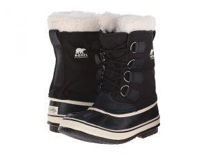 SOREL Winter Carnival (Black/Stone) Women's Cold Weather Boots