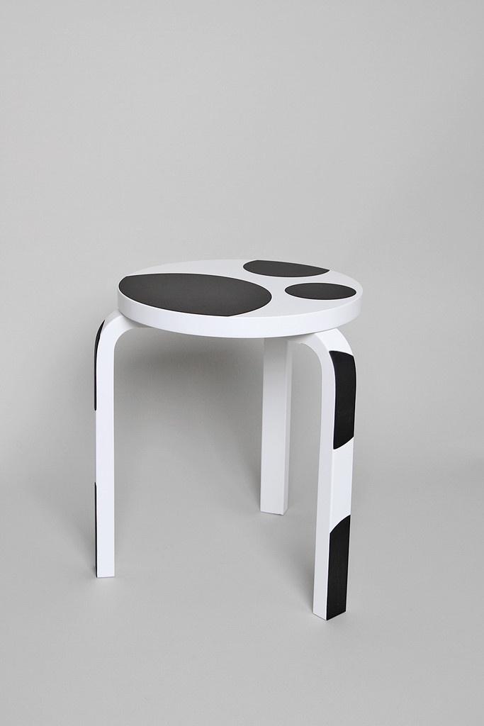 Rei Kawakubo for Artek stool