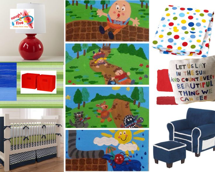 Nursery rhyme themed nursery , design and painting by nought 2 five. www.facebook.com/noughttwofive