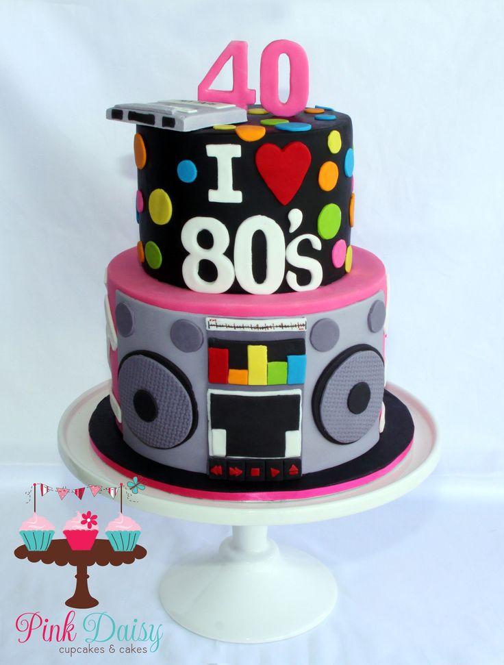 25+ Elegantes Bild von 80er Geburtstagstorte 80er Geburtstagstorte Gruß an die 80er …   – 80er party