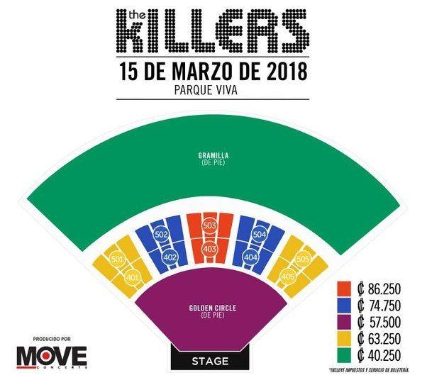 The Killers en Costa Rica – revista rock peperina