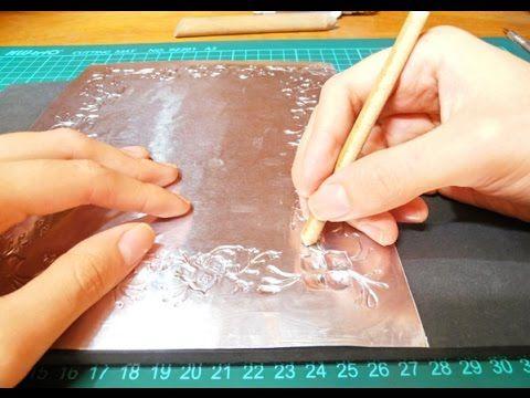 Lorena y Nicolasa: aprende a hacer manualidades con la técnica de repujado - YouTube
