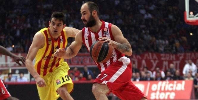 Basket - Euroligue (H) - Euroligue : l'Olympiacos domine un Barcelone inoffensif