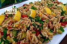 Kavrulmuş Şehriyeli Nefis Gün Salatası Tarifi nasıl yapılır? 6.591 kişinin defterindeki bu tarifin resimli anlatımı ve deneyenlerin fotoğrafları burada. Yazar: Humeyra Ture
