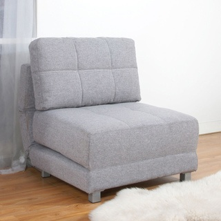 @Overstock - With a comfort-oriented design, this convertible chair bed is multifunctional and takes full advantage of any available space. Features fabrics with great look and require minimum care, high density foam, steel legs, and Euro designed mechanism.http://www.overstock.com/Home-Garden/New-York-Ash-Convertible-Chair-Bed/6731631/product.html?CID=214117 $409.99