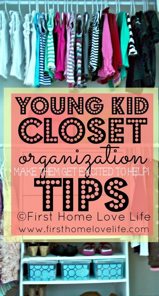 Kids Closet Organization and Bedroom Progress #children #organization #organize #closet