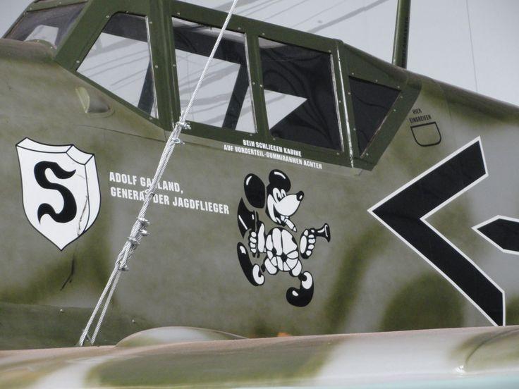 Me 109 de Adolf Galland - réplica Adolf Galland's Me 109 ...
