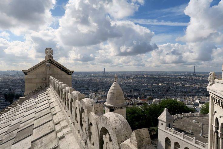 View from Sacre Coeur, Paris, France