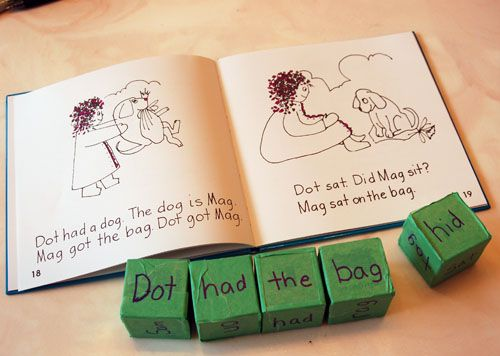story cubes for bob books