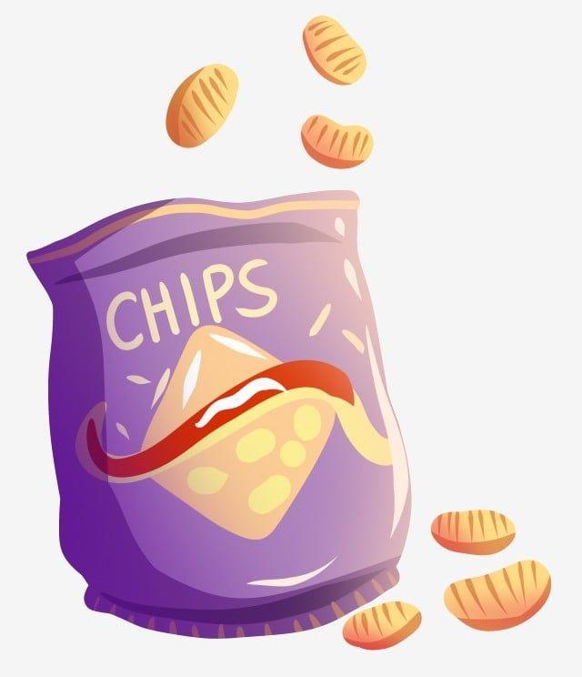 Ilustracion De Papas Fritas De Dibujos Animados Imagenes Predisenadas De Chips Cartoon Snacks Papas Fritas Png Y Psd Para Descargar Gratis Pngtree Papas Fritas Papas Fritas Dibujo Papa