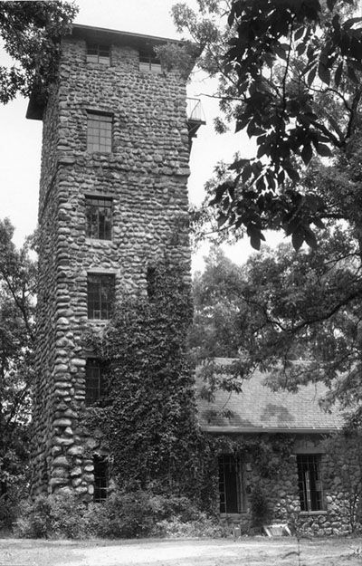 """The Helmer Castle- Jackson Michigan  located on Draper Road, near Jackson Community College.In 1975, it was the film location of the horror movie """"Demon Lover."""""""