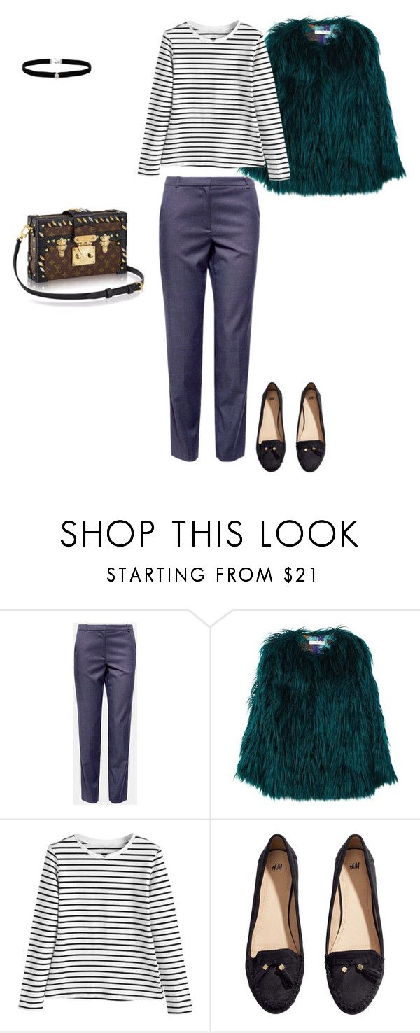 """2 III 2018"" by dolce89 ❤ liked on Polyvore featuring MANGO, Louis Vuitton, H&M and Amanda Rose Collection"