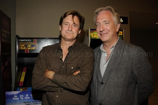 "I posted recently about Alan Rickman's appearance at the premiere for his new movie ""Bottle Shock"" and I've come across some more pix. I know you big Rickman fans out there…"