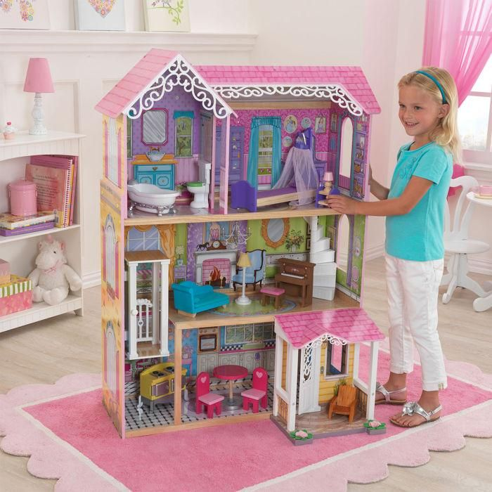KidKraft Sweet   Pretty Dollhouse For Ages  15 Pieces Of Colorful  Furniture  Accommodates Dolls Up To Tall. 17 Best images about Gifts for Kids on Pinterest   Kidkraft