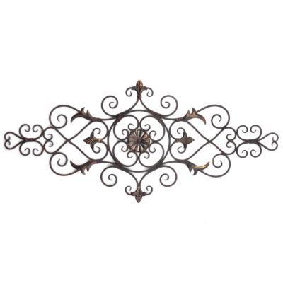 Black Wrought Iron Wall Decor fleur de lis wrought iron wall decor planter wrought iron wall