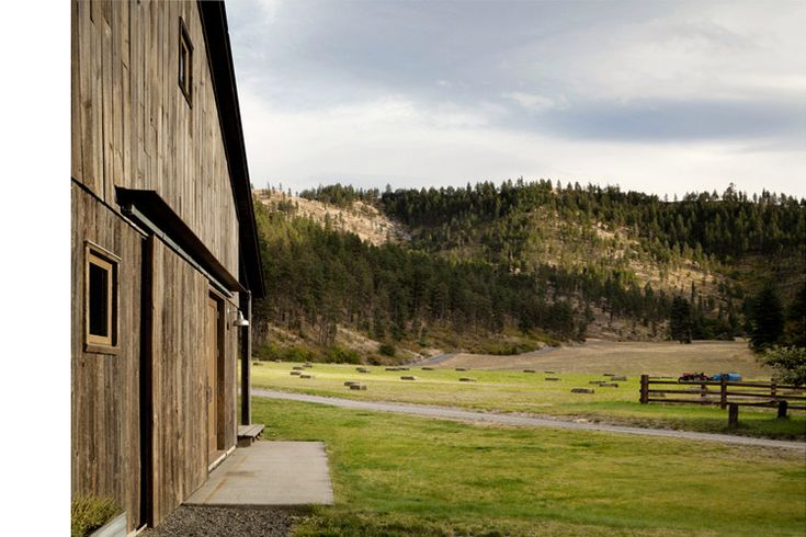 canyon barn renovation exterior, M|W architecture+design