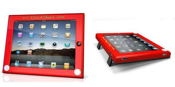 Etch-A-Sketch case for iPad