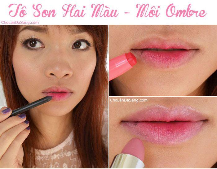 Hướng Dẫn Trang Điểm Màu Hồng Xinh Xắn Môi Ombre. Làm sao tô son 2 màu kiểu Ombre #lamdep #trangdiem #bbloggers #beautyblogger #huongdantrangdiem #beautyblog