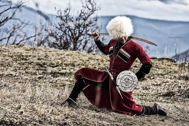 Circassian Warrior.
