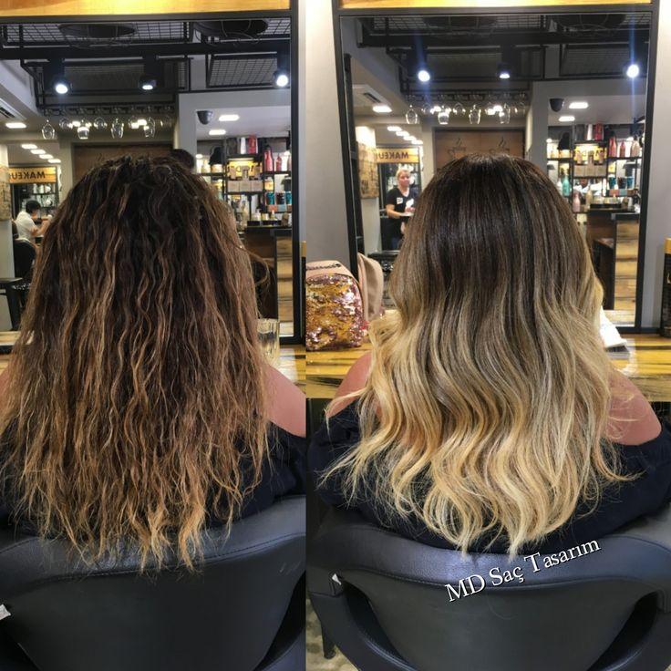 Ombre Hair 💛 #ombre #ombrehair #izmir #kuaför #hair #hairstyle #hairstyles #hairdesign #hairdesign #hairdresser #goztepe #kucukyali #mdsactasarim @mdmetindemir