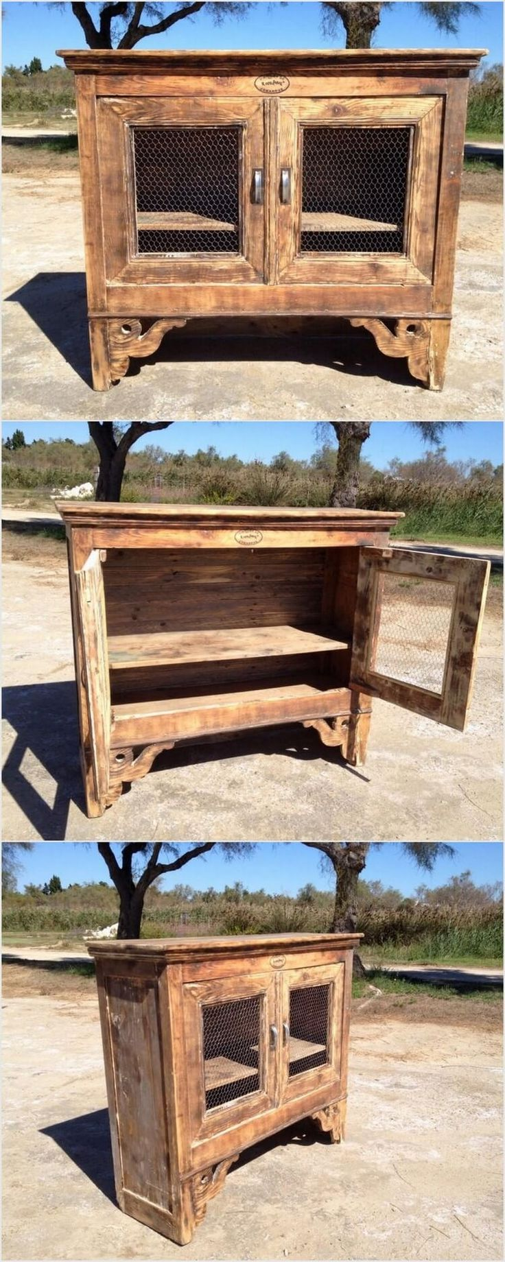 186 best Wooden Pallet Furniture images on Pinterest | Benches ...