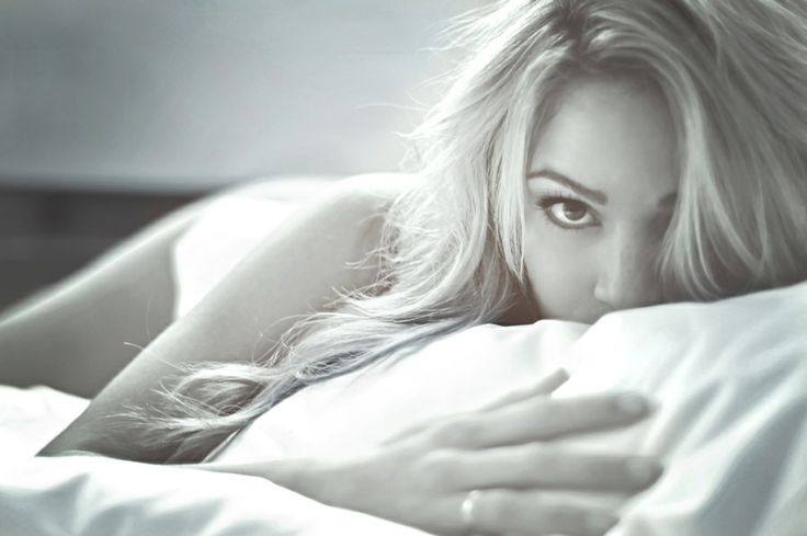 When last night was SOOO good that you playfully wait for him to wake up...to do it all over again ;)