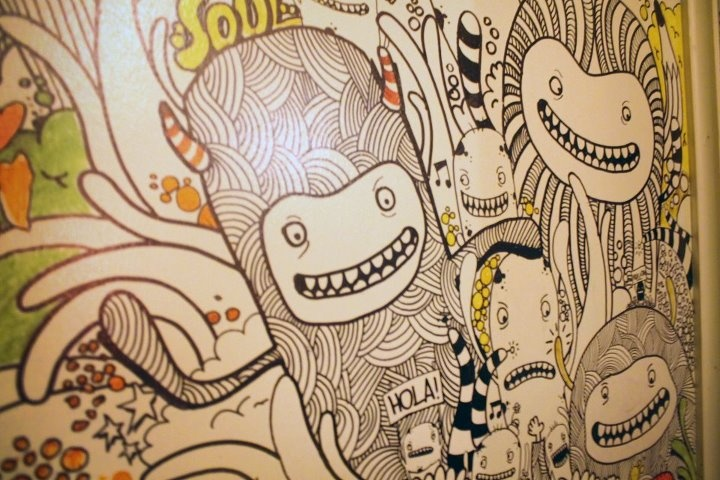 Doodle in SoulCocinaBar!