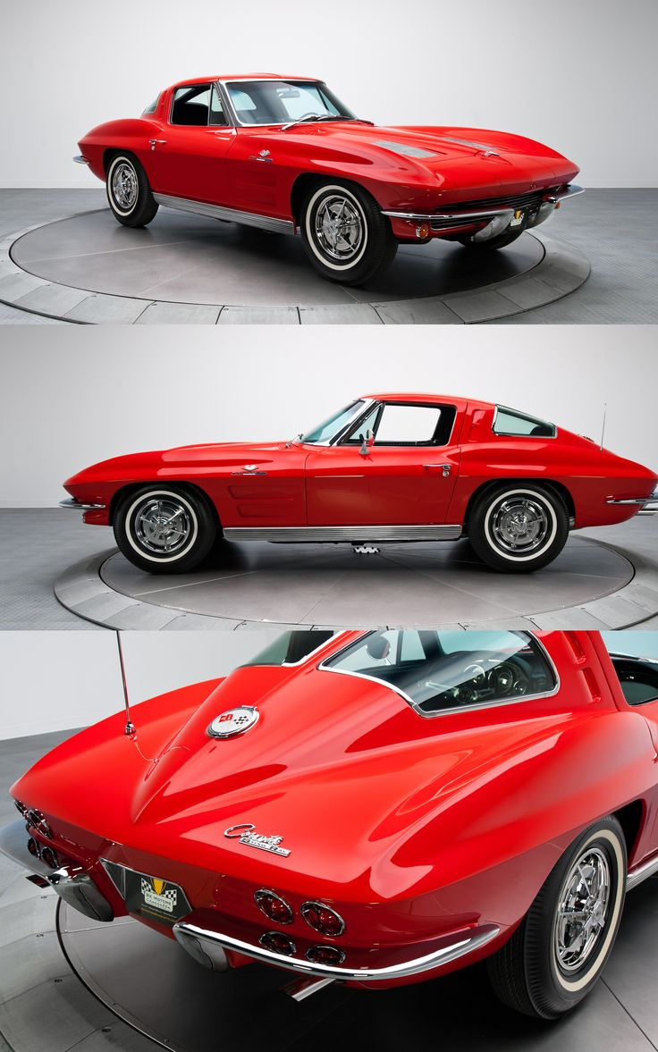 1963 chevrolet corvette z06 only year of the split rear window and the only one