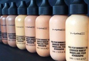 Dinair, Temptu & MAC Pro Airbrush Makeup Review
