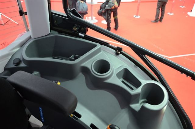 Yanmar's New YT Series Tractor Is A Ferrari For The Farm... plus it's got a cupholder AND a smartphone dock!