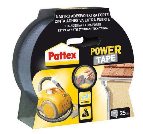 Patex 1145768 Power Tape Rouleau Adhésif 50 mm X 25 M-Gris: Cet article Patex 1145768 Power Tape Rouleau Adhésif 50 mm X 25 M-Gris est…