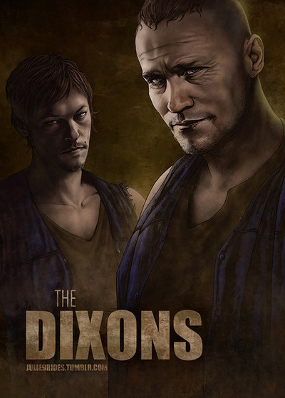 The Walking Dead Wallpaper Daryl And Merle