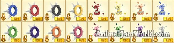 Animal Jam Rares animal-jam-rare-spike-collars  #AnimalJam #Items #Rares http://www.animaljamworld.com/animal-jam-rares/