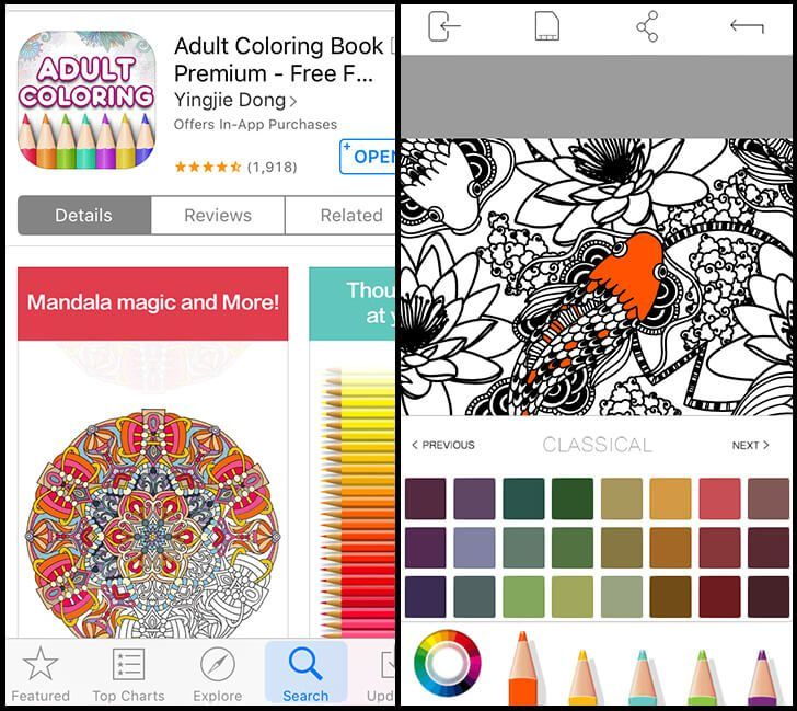 The Best Adult Coloring Apps - Dream a Little Bigger