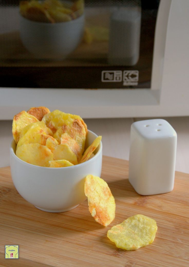 chips di patate al microonde gp