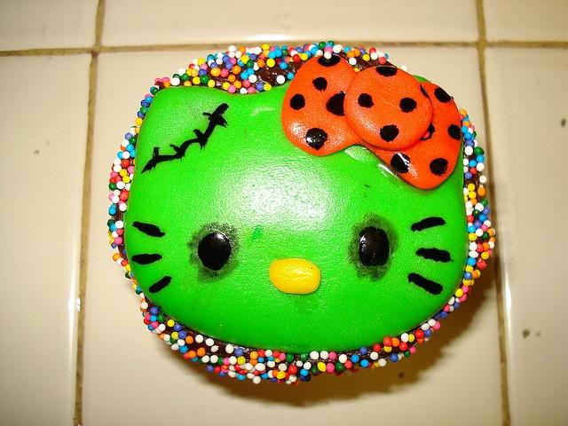 Hello Kitty Halloween Party Invitations, Customize it, DIY Print - hello kitty halloween decorations
