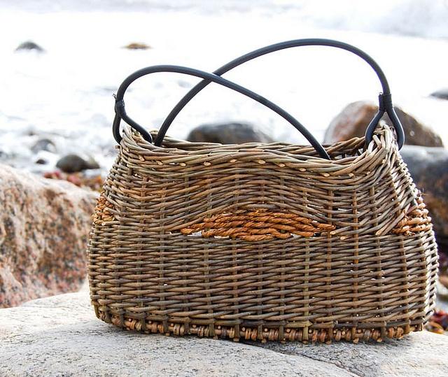Looks like a basket handbag