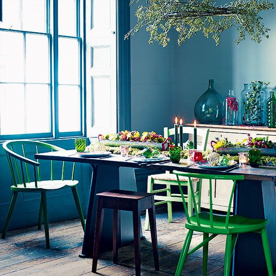 10 Reasons To Update Your Home With Colour This Christmas Dining RoomsDining Room DecoratingDining
