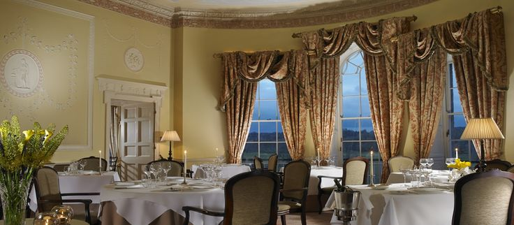 The Lady Helen at Mount Juliet Estate. Enjoy a wonderful dining experience as you gaze over the estate and River Nore. http://www.mountjuliet.ie