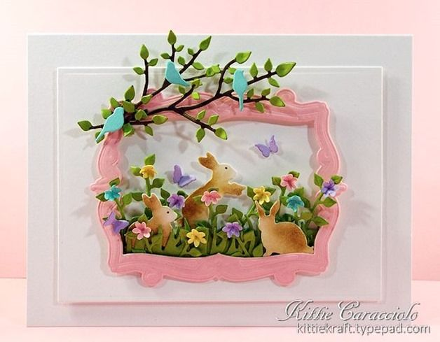 88 best Kittie Caracciolo cards images – Boxed Easter Cards