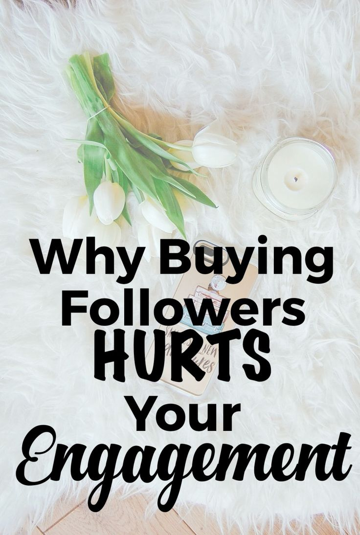 Why Buying Followers Hurts Your Engagement - Helene in Between