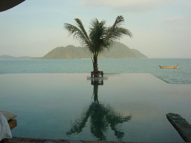 Infinity pool in Phuket at Evason
