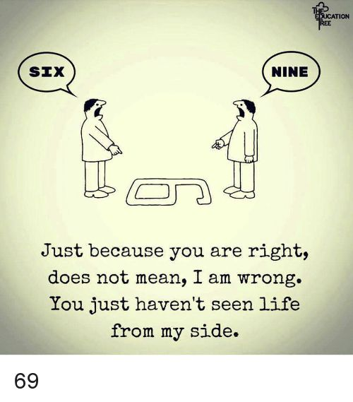 17 Best images about Inspirations & observations on ... I Am Right You Are Wrong